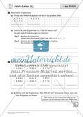 Schriftliche Addition und Subtraktion bis 1 000 000 – Teil 2 Preview 2