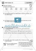 Schriftliche Addition und Subtraktion bis 1 000 000 – Teil 2 Preview 3