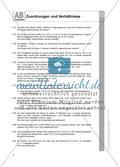Zuordnungen und Verhältnisse: Arbeitsblätter Preview 1
