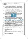 Zuordnungen und Verhältnisse: Arbeitsblätter Preview 4