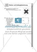 Flächen- und Umfangsberechnung einschließlich Satz des Pythagoras: Arbeitsblätter Preview 7