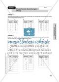 Proportionale und antiproportionale Zuordnungen Preview 3