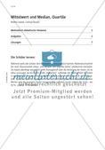 Mittelwert und Median, Quartile Preview 3