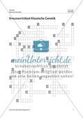 Kreuzworträtsel Klassische Genetik Preview 2
