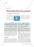 Perform poetry and you'll be a true poet! Preview 1