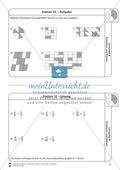 Stationsarbeit - Brüche erweitern und kürzen: Stationskärtchen, Lösungen und Arbeitsbögen Preview 10