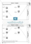 Stationsarbeit - Brüche erweitern und kürzen: Stationskärtchen, Lösungen und Arbeitsbögen Preview 3