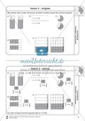 Stationsarbeit - Brüche erweitern und kürzen: Stationskärtchen, Lösungen und Arbeitsbögen Preview 5