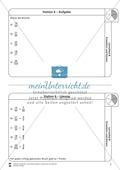 Stationsarbeit - Brüche erweitern und kürzen: Stationskärtchen, Lösungen und Arbeitsbögen Preview 6