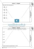 Stationsarbeit - Brüche erweitern und kürzen: Stationskärtchen, Lösungen und Arbeitsbögen Preview 7