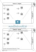 Stationsarbeit - Brüche erweitern und kürzen: Stationskärtchen, Lösungen und Arbeitsbögen Preview 8