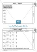 Stationsarbeit - Brüche erweitern und kürzen: Stationskärtchen, Lösungen und Arbeitsbögen Preview 9
