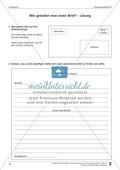 Schreibtraining Kompetenzstufe B: Einladung: Arbeitsblätter mit Lösungen Preview 3