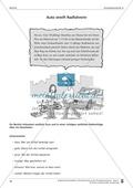 Schreibtraining Kompetenzstufe A: Bericht: Arbeitsblätter mit Lösungen Preview 3
