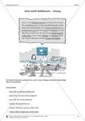 Schreibtraining Kompetenzstufe A: Bericht: Arbeitsblätter mit Lösungen Preview 4
