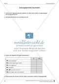 Schreibtraining Kompetenzstufe A: Bericht: Arbeitsblätter mit Lösungen Preview 7