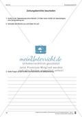 Schreibtraining Kompetenzstufe B: Bericht: Arbeitsblätter mit Lösungen Preview 7