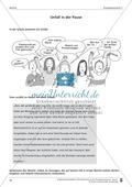Schreibtraining Kompetenzstufe C: Bericht: Arbeitsblätter mit Lösungen Preview 1
