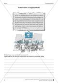 Schreibtraining Kompetenzstufe C: Bericht: Arbeitsblätter mit Lösungen Preview 3