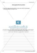 Schreibtraining Kompetenzstufe C: Bericht: Arbeitsblätter mit Lösungen Preview 5