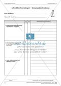 Schreibtraining Kompetenzstufe A: Vorgangsbeschreibung: Arbeitsblätter mit Lösungen Preview 11