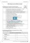 Schreibtraining Kompetenzstufe A: Vorgangsbeschreibung: Arbeitsblätter mit Lösungen Preview 1