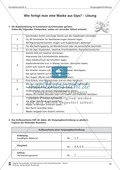 Schreibtraining Kompetenzstufe A: Vorgangsbeschreibung: Arbeitsblätter mit Lösungen Preview 2