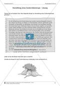 Schreibtraining Kompetenzstufe A: Vorgangsbeschreibung: Arbeitsblätter mit Lösungen Preview 6