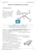 Schreibtraining Kompetenzstufe B: Vorgangsbeschreibung: Arbeitsblätter mit Lösungen Preview 5