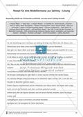 Schreibtraining Kompetenzstufe C: Vorgangsbeschreibung: Arbeitsblätter mit Lösungen Preview 6