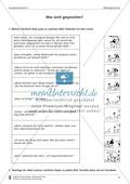 Wörtliche Rede Bildern zuordnen: Übungen und Lösung Preview 1