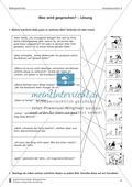 Wörtliche Rede Bildern zuordnen: Übungen und Lösung Preview 2