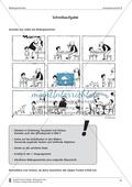 Eine Bildergeschichte selbst schreiben: Bilder und Aufgabenstellung (mittleres Niveau) Preview 1
