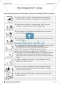 Wörtliche Rede zu Bildern finden: Übung und Lösung Preview 2