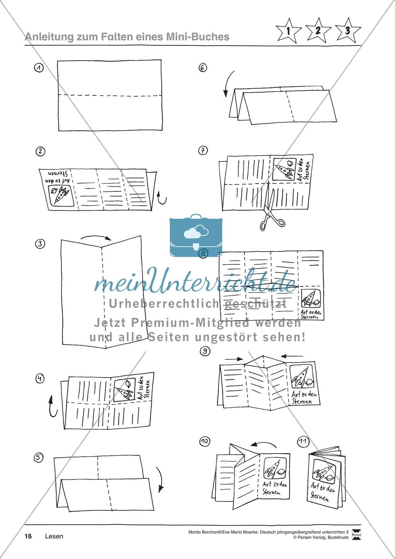 """JÜL - Drei Differenzierungsstufen: """"Auf zu den Sternen"""" - Einführung + Arbeitsblätter + Aufgaben + Lernkontrolle Preview 12"""