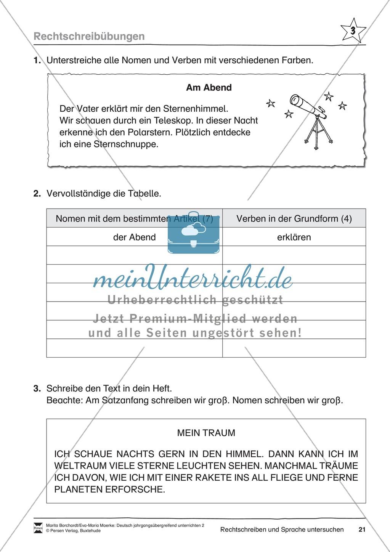"""JÜL - Drei Differenzierungsstufen: """"Auf zu den Sternen"""" - Einführung + Arbeitsblätter + Aufgaben + Lernkontrolle Preview 17"""
