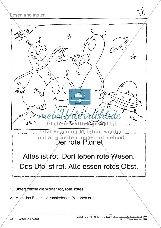 """JÜL - Drei Differenzierungsstufen: """"Auf zu den Sternen"""" - Einführung + Arbeitsblätter + Aufgaben + Lernkontrolle Preview 18"""