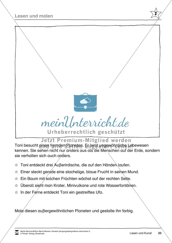"""JÜL - Drei Differenzierungsstufen: """"Auf zu den Sternen"""" - Einführung + Arbeitsblätter + Aufgaben + Lernkontrolle Preview 19"""