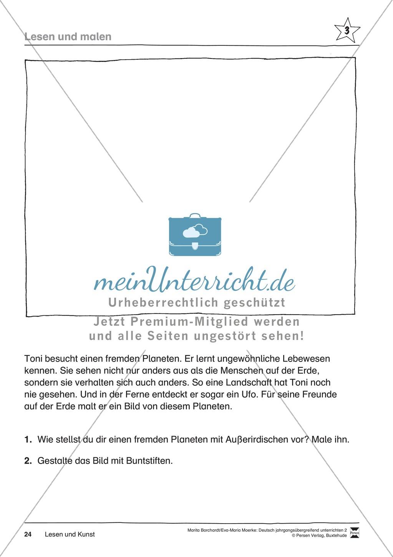 """JÜL - Drei Differenzierungsstufen: """"Auf zu den Sternen"""" - Einführung + Arbeitsblätter + Aufgaben + Lernkontrolle Preview 20"""