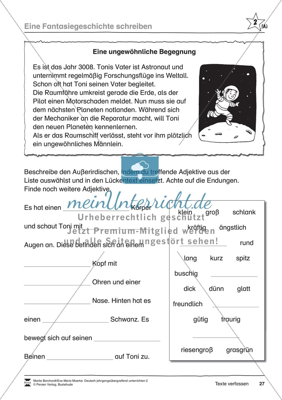 """JÜL - Drei Differenzierungsstufen: """"Auf zu den Sternen"""" - Einführung + Arbeitsblätter + Aufgaben + Lernkontrolle Preview 23"""