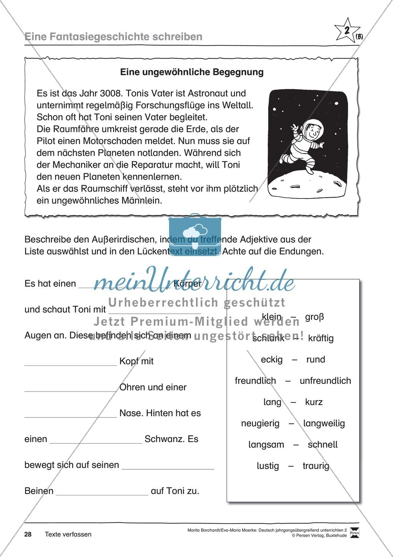 """JÜL - Drei Differenzierungsstufen: """"Auf zu den Sternen"""" - Einführung + Arbeitsblätter + Aufgaben + Lernkontrolle Preview 24"""