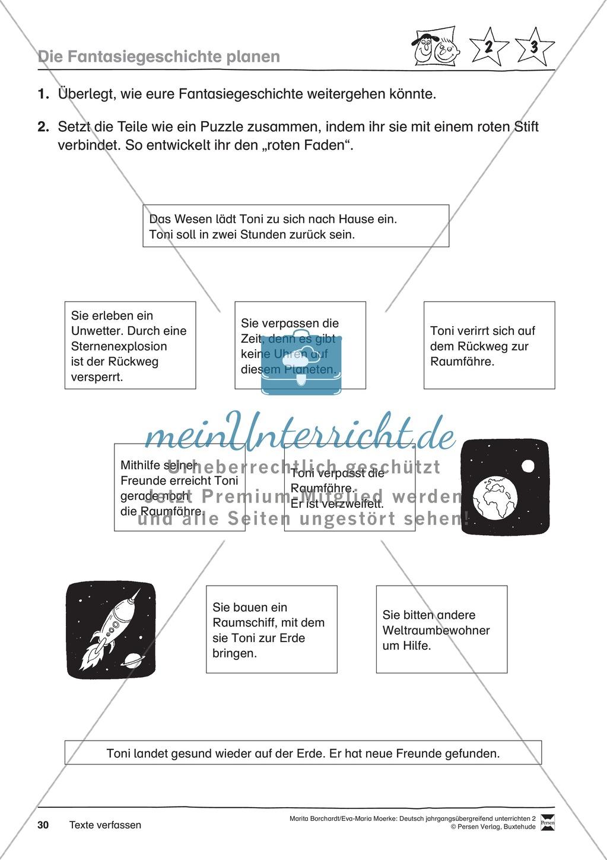 """JÜL - Drei Differenzierungsstufen: """"Auf zu den Sternen"""" - Einführung + Arbeitsblätter + Aufgaben + Lernkontrolle Preview 26"""