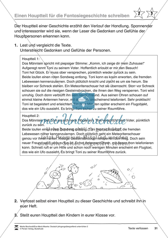 """JÜL - Drei Differenzierungsstufen: """"Auf zu den Sternen"""" - Einführung + Arbeitsblätter + Aufgaben + Lernkontrolle Preview 27"""