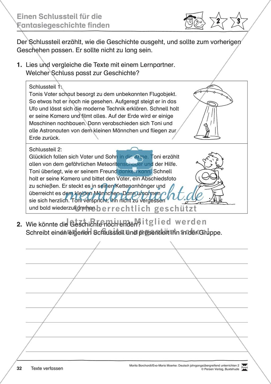 """JÜL - Drei Differenzierungsstufen: """"Auf zu den Sternen"""" - Einführung + Arbeitsblätter + Aufgaben + Lernkontrolle Preview 28"""