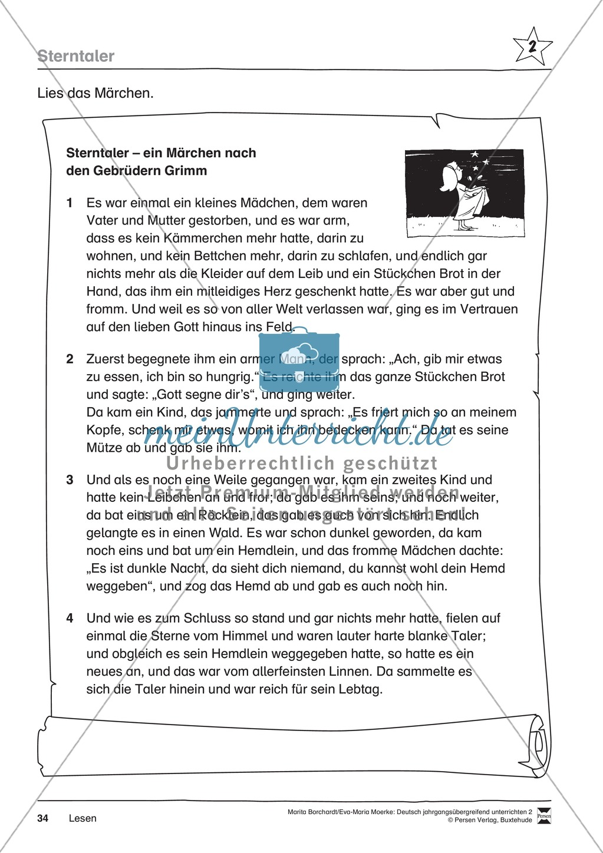 """JÜL - Drei Differenzierungsstufen: """"Auf zu den Sternen"""" - Einführung + Arbeitsblätter + Aufgaben + Lernkontrolle Preview 30"""