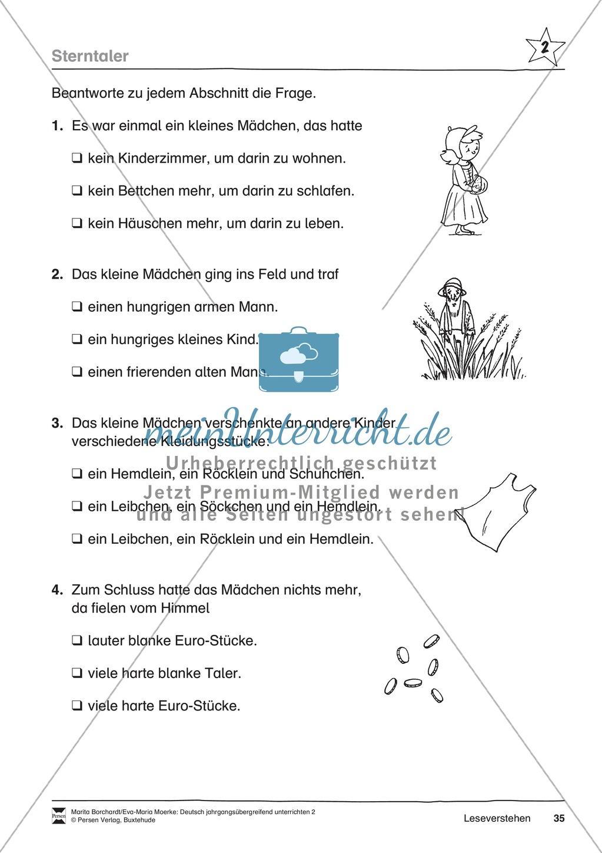 """JÜL - Drei Differenzierungsstufen: """"Auf zu den Sternen"""" - Einführung + Arbeitsblätter + Aufgaben + Lernkontrolle Preview 31"""