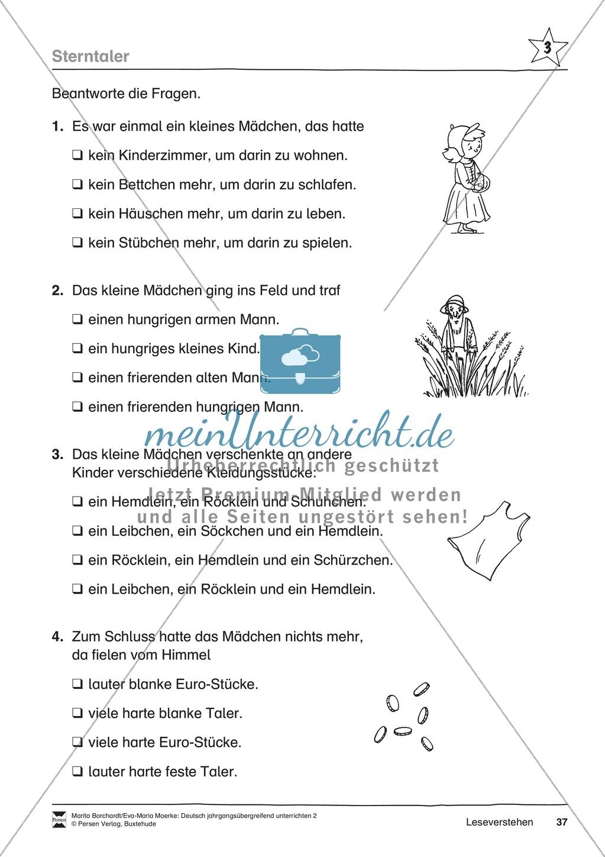 """JÜL - Drei Differenzierungsstufen: """"Auf zu den Sternen"""" - Einführung + Arbeitsblätter + Aufgaben + Lernkontrolle Preview 33"""