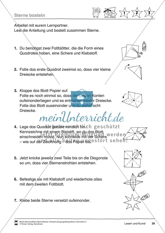 """JÜL - Drei Differenzierungsstufen: """"Auf zu den Sternen"""" - Einführung + Arbeitsblätter + Aufgaben + Lernkontrolle Preview 35"""