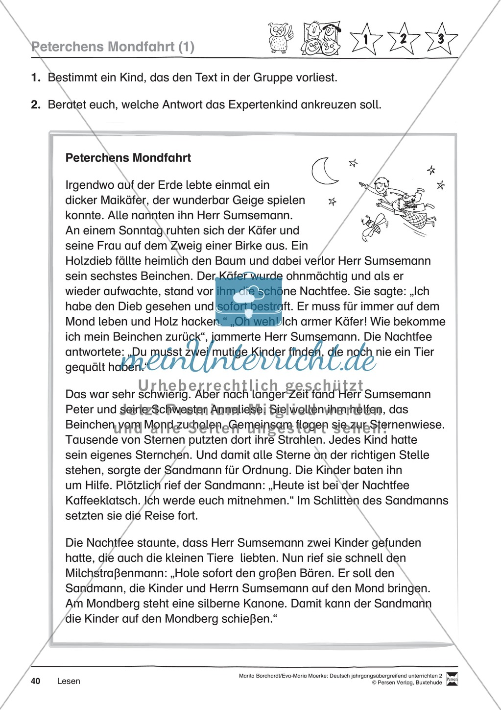 """JÜL - Drei Differenzierungsstufen: """"Auf zu den Sternen"""" - Einführung + Arbeitsblätter + Aufgaben + Lernkontrolle Preview 36"""