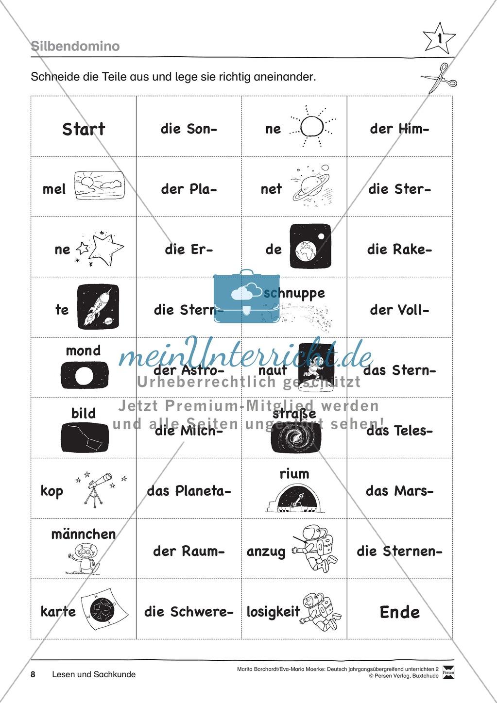 """JÜL - Drei Differenzierungsstufen: """"Auf zu den Sternen"""" - Einführung + Arbeitsblätter + Aufgaben + Lernkontrolle Preview 4"""